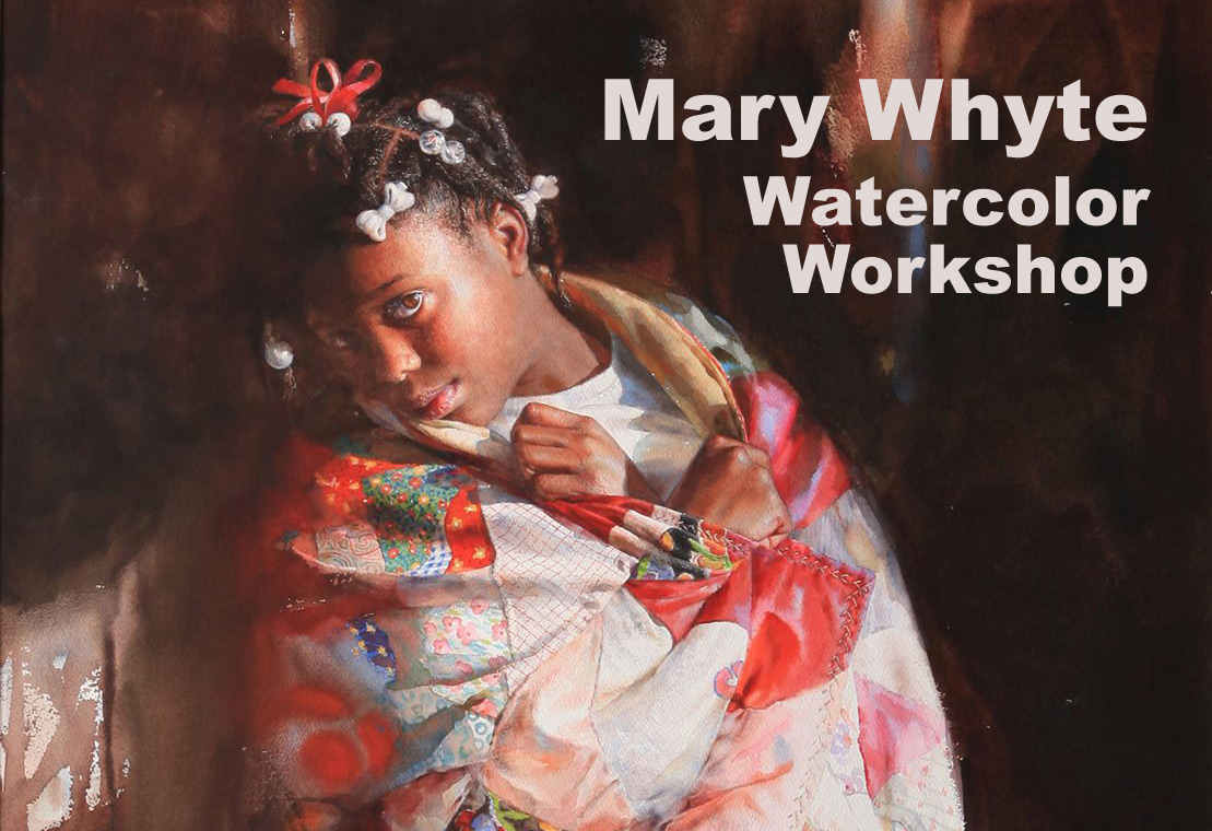 Mary Whyte Watercolor Workshop Carmel Ca March 2015