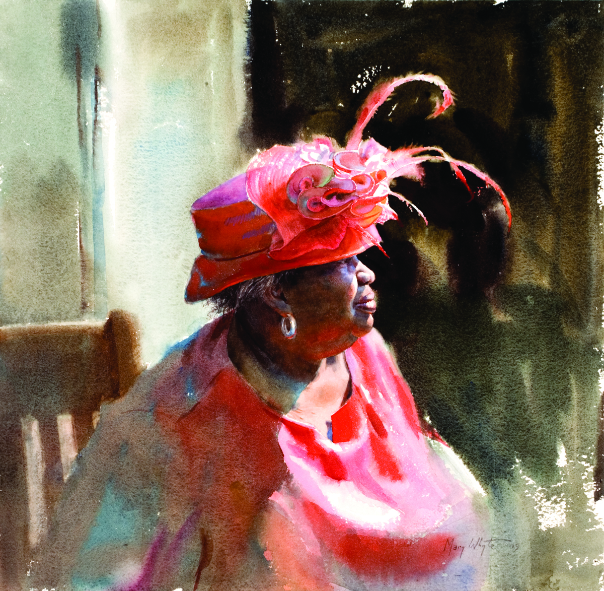 Watercolor books by mary whyte - Mary Whyte